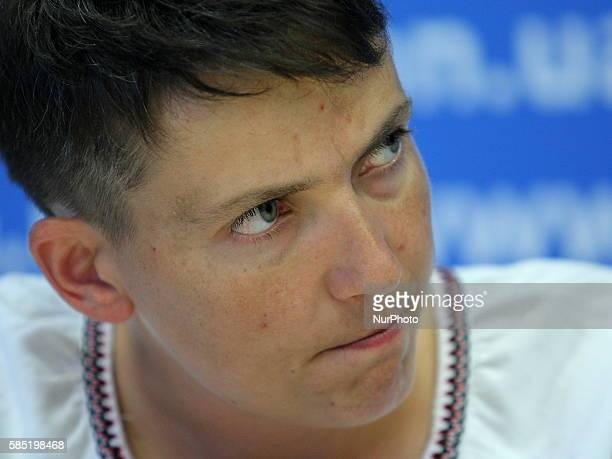 Ukrainian pilot and MP Nadiya Savchenko hunger strike in protest against the inaction of the Ukrainian authorities in the issue of liberation of...