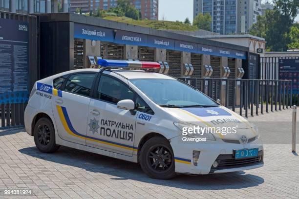 ukrainska polisbil - gwengoat bildbanksfoton och bilder