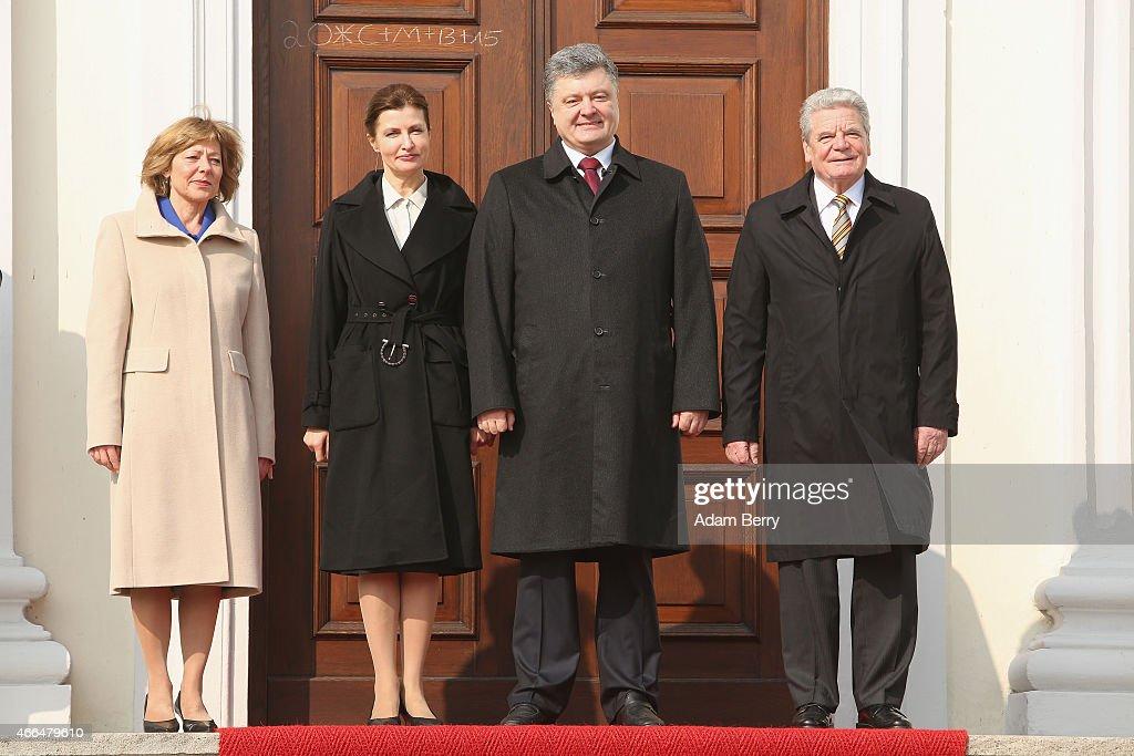 Poroshenko Meets With German Leaders In Berlin