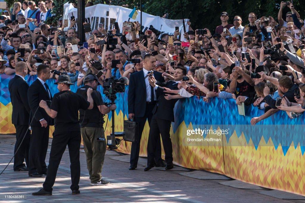 UKR: Inauguration Ceremony For Ukraine's President Volodymyr Zelenskiy