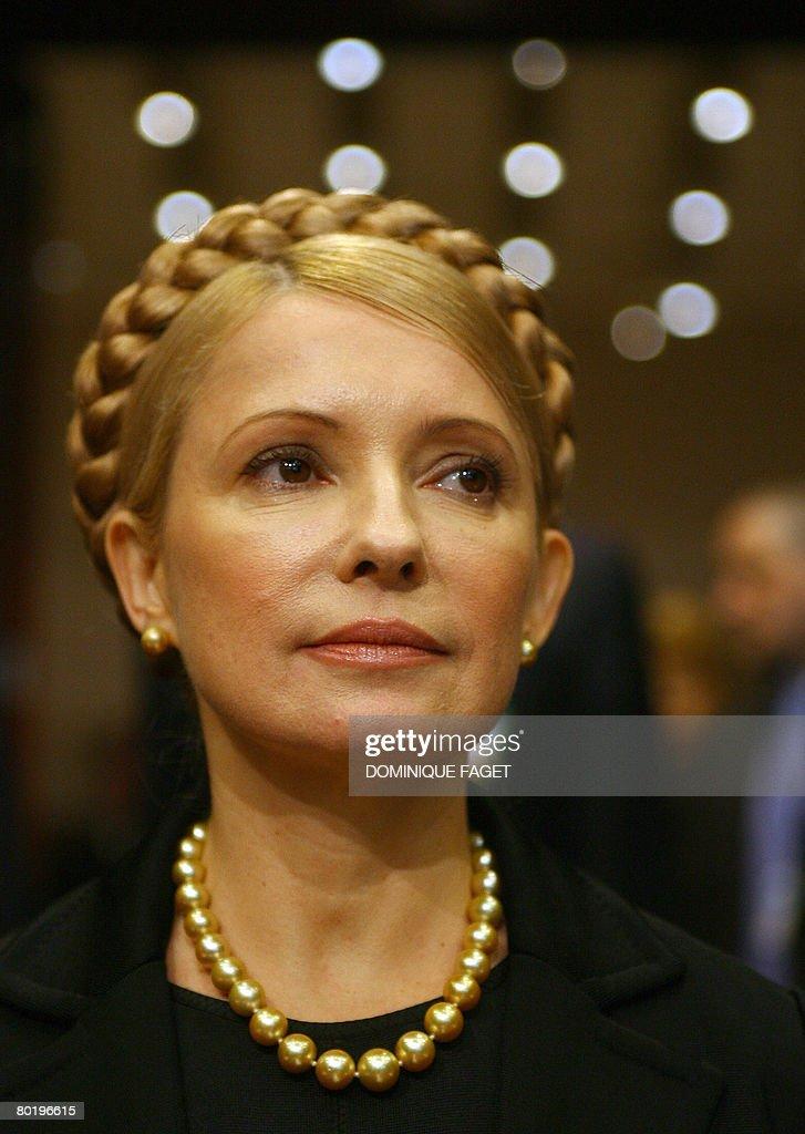 Ukrainian Prime Minister Yulia Tymoshenk : News Photo