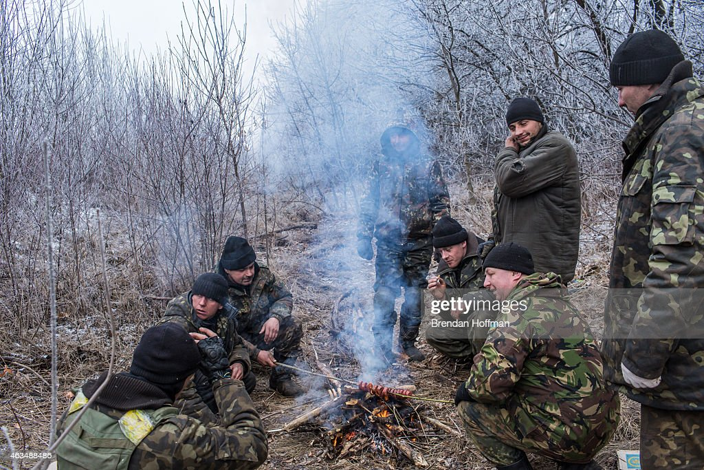 A Ceasefire Is Brokered In War Torn Eastern Ukraine : News Photo