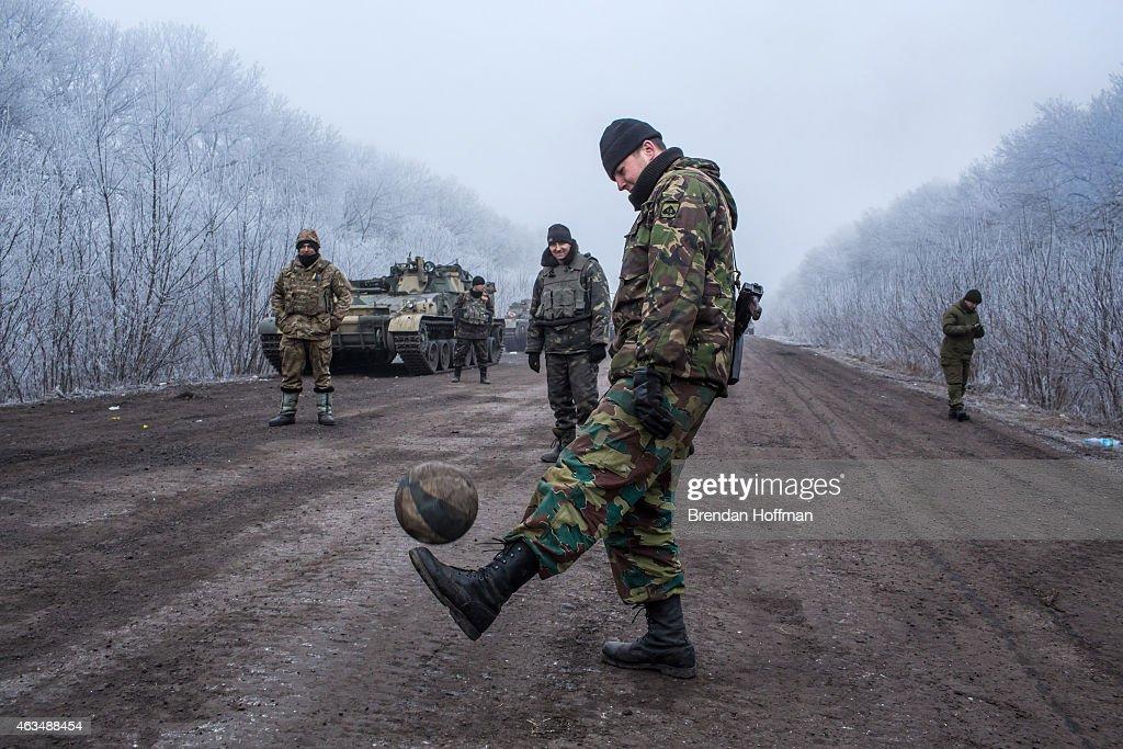 A Ceasefire Is Brokered In War Torn Eastern Ukraine : News Photo