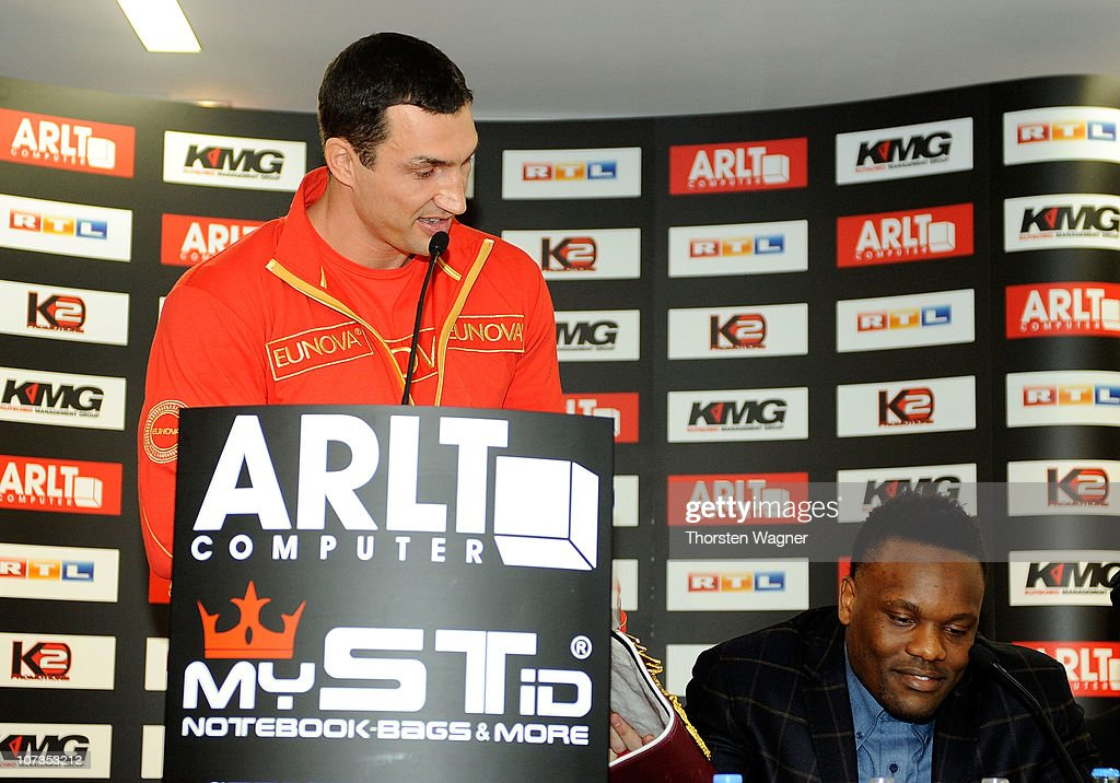 Wladimir Klitschko - Press Conference