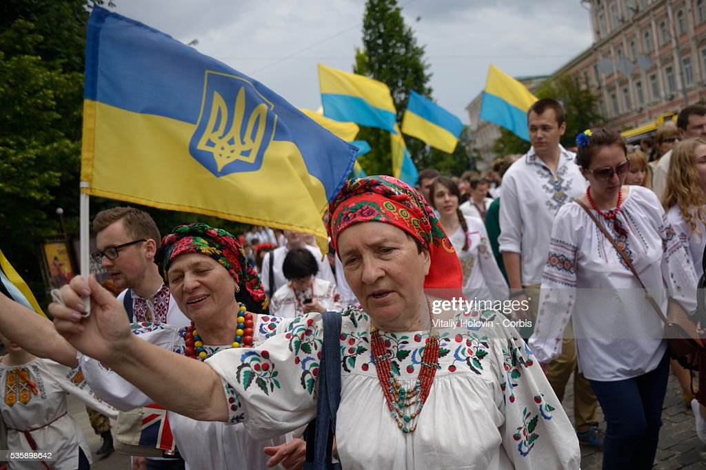 Vyshyvankas March in Kyiv