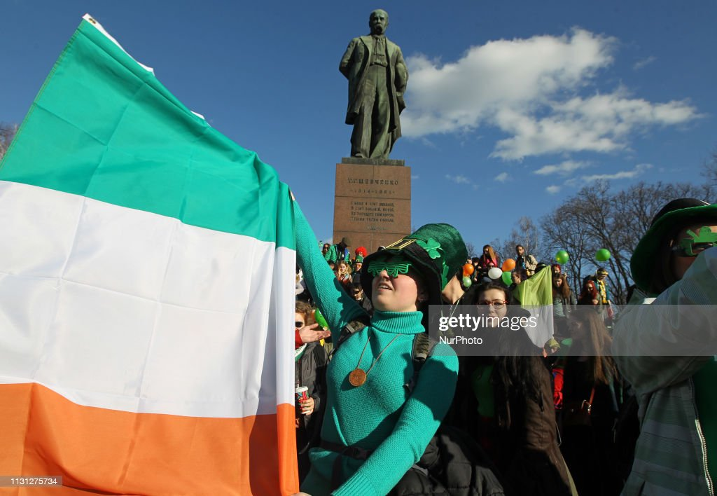 UKR: St. Patrick's Day Parade In Ukraine