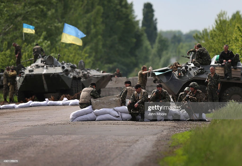 Crisis Continues In Eastern Ukraine : News Photo