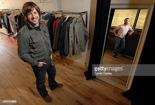 October 5 2006 Scottish entrepreneurs Graeme Macleanand Kevin Renton shot in their newly opened Toronto store UKULA Thursday October 5 2006 this...