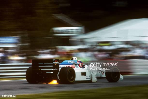 Ukyo Katayama, Tyrrell-Yamaha 022, Grand Prix of Canada, Circuit Gilles Villeneuve, 12 June 1994.