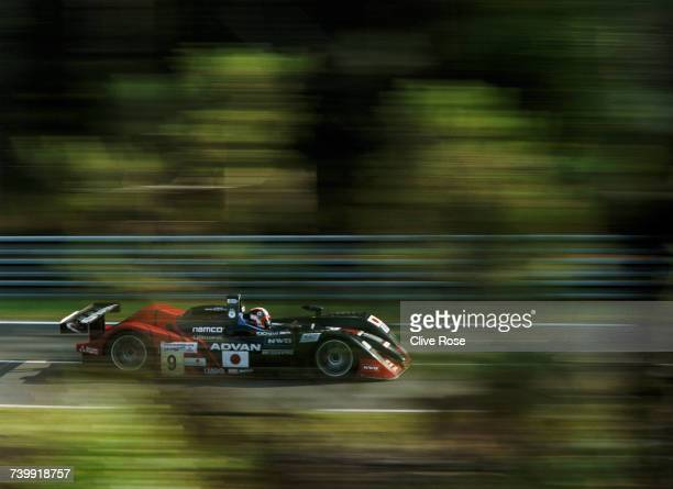 Ukyou Katayama of Japan drives the Kondo Racing Dome S101 Mugen V8 during the pre race test days for the FIA World Sportscar Championship 24 Hours of...