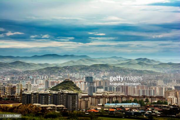 ulaanbaatar city, mongolia. - independent mongolia stock pictures, royalty-free photos & images