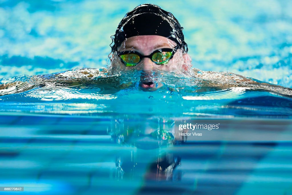 uladzimir izotau of belarus competes in mens 100 m breaststroke sb11 12 during day 5 - Olympic Swimming Pool 2017