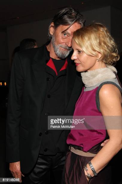 Ulay and Lena Balant attend Opening Night Party of MARINA ABRAMOVIC THE ARTIST IS PRESENT at Museum of Modern Art on March 9 2010 in New York City
