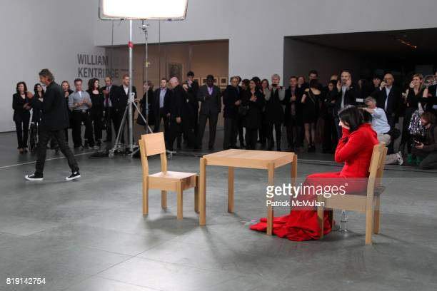 Ulay and Marina Abramovic attend Opening Night Party of MARINA ABRAMOVIC THE ARTIST IS PRESENT at Museum of Modern Art on March 9 2010 in New York...