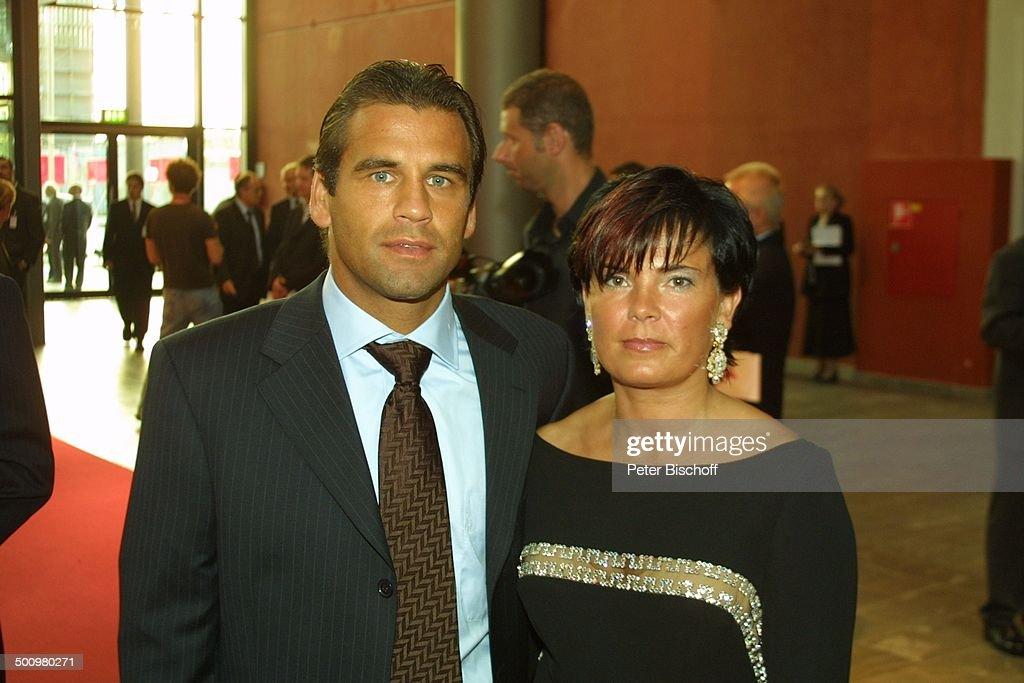 Ulf Kirsten , Ehefrau Diana, ARD-Gala 40 Jahre Fußball