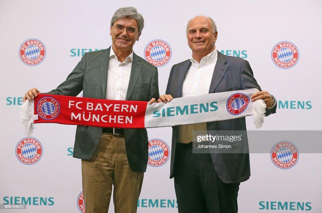 FC Bayern Muenchen Unveils New Partnership