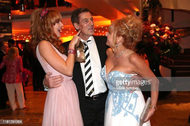 Uli Stein and his daughter Jennifer Stein and wife Cornelia Stein during the German Sports Media Ball at Alte Oper on November 9 2019 in Frankfurt am...