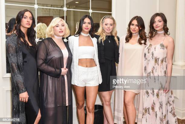 ulia Moshy Hayley Hasselhoo Alessandra Garcia Lorido Tiffany Trump Sophie Simmons Sadie Friedman and Nora Gjeili attends Andrew Warren of Just Drew...
