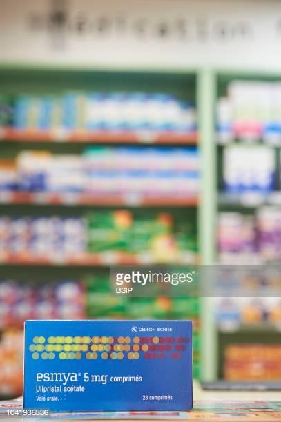 ESMYA Ulipristal acetate is a medication used for uterine fibroids