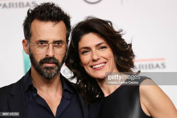 Ulisse Lendaro and Anna Valle attend 'L'Eta' Imperfetta Photocall' photocall during the 12th Rome Film Fest at Auditorium Parco Della Musica on...