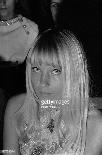 Ulla Charles Aznavour's wife Paris 1965 HA127423