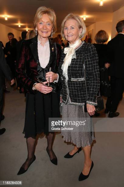 Ulla Feldmeier and Ilse Korsten at the opera premiere of Die tote Stadt by Erich Wolfgang Korngold at Bayerische Staatsoper on November 18 2019 in...