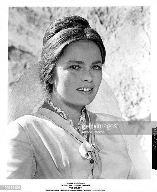 Ulla Jacobsson in publicity portrait for the film 'Zulu' 1964