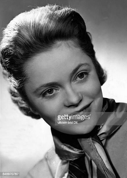Ulla Jacobsson*Schauspielerin SchwedenPortrait 1954