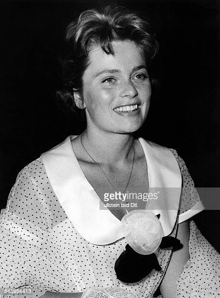 Ulla Jacobsson*Schauspielerin SchwedenPortrait 1959