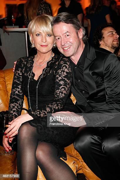 Ulla Kock am Brink and Peter Fissenebert attend the Bulgari Diva Cinema Night on February 10 2015 in Berlin Germany
