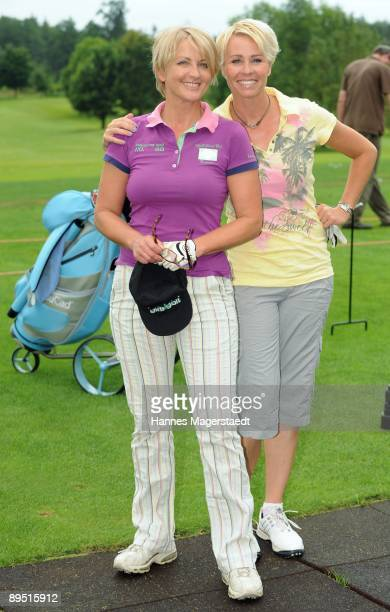 Ulla Kock am Brink and Sonja Zietlow attend the Bavarian Film Cup 2009 on July 30 2009 in Egling Germany