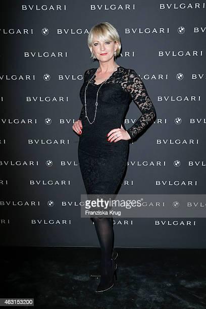 Ulla Kock am Brink attends the Bulgari Diva Cinema Night on February 10 2015 in Berlin Germany