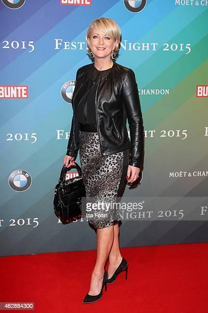 Ulla Kock am Brink attends the Bunte BMW Festival Night 2015 on February 06 2015 in Berlin Germany