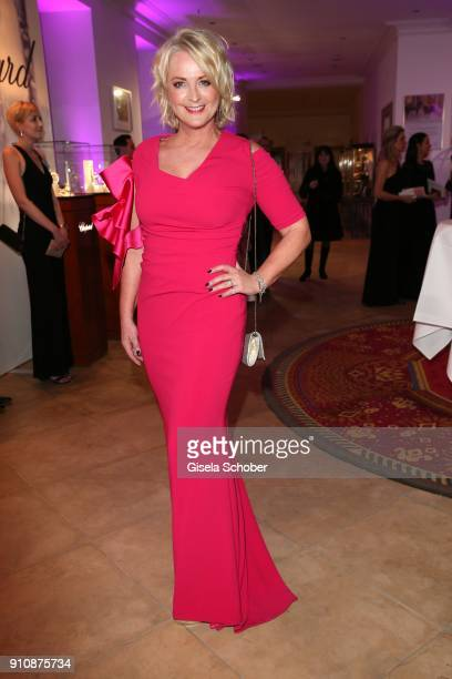 Ulla Kock am Brink during the Semper Opera Ball 2018 reception at Hotel Taschenbergpalais near Semperoper on January 26 2018 in Dresden Germany