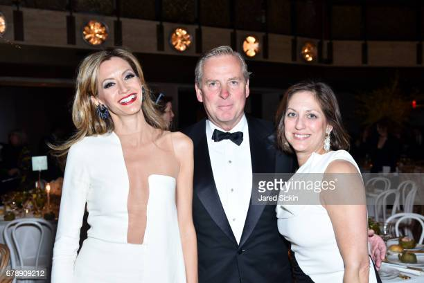 Ulla Parker Alex Ropers and Ide Dangoor attends the New York City Ballet 2017 Spring Gala at David H Koch Theater Lincoln Center on May 4 2017 in New...
