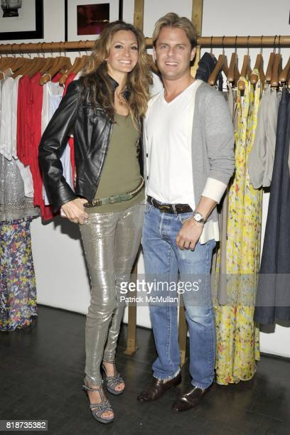Ulla Parker and Adam Lippes attend MasterCard Meatpacking VIP Shopping Event to Support Charity Camfed at Meat Packing District on June 10 2010 in...