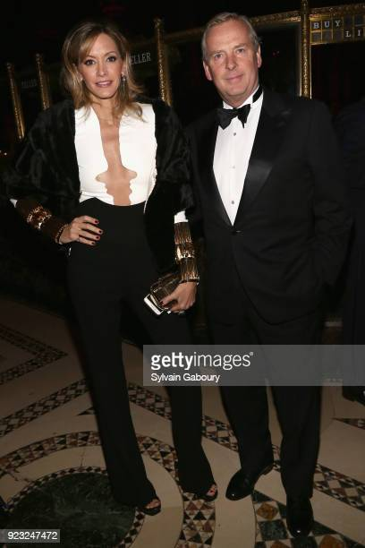 Ulla Parker and Alex Roepers attend Museum of the City of New York Winter Ball on February 22 2018 in New York City