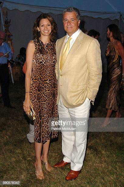 Ulla Parker and Kevin Parker attend SAFARI SUMMER Benefit for the Departmant of Emergency Medicine at Southampton Hospital at Southampton on August 6...