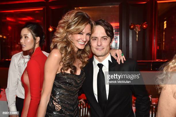 Ulla Parker and Thor Halvorssen attend Julie Macklowe's 40th birthday Spectacular at La Goulue on December 19 2017 in New York City