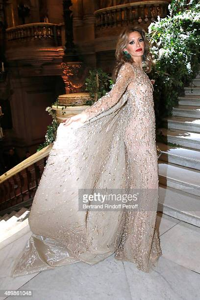 Ulla Parker attend the Ballet National de Paris Opening Season Gala at Opera Garnier on September 24 2015 in Paris France