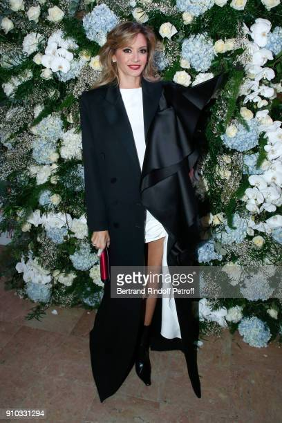 Ulla Parker attends the 16th Sidaction as part of Paris Fashion Week on January 25 2018 in Paris France