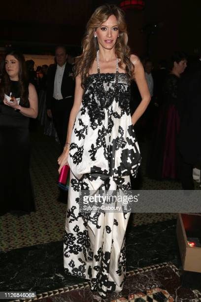 Ulla Parker attends The 64th Annual Viennese Opera Ball Chaired By Jean Shafiroff at Cipriani 42nd Street on February 01 2019 in New York City