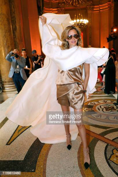 Ulla Parker attends the Stephane Rolland Haute Couture Fall/Winter 2019 2020 show as part of Paris Fashion Week on July 02 2019 in Paris France