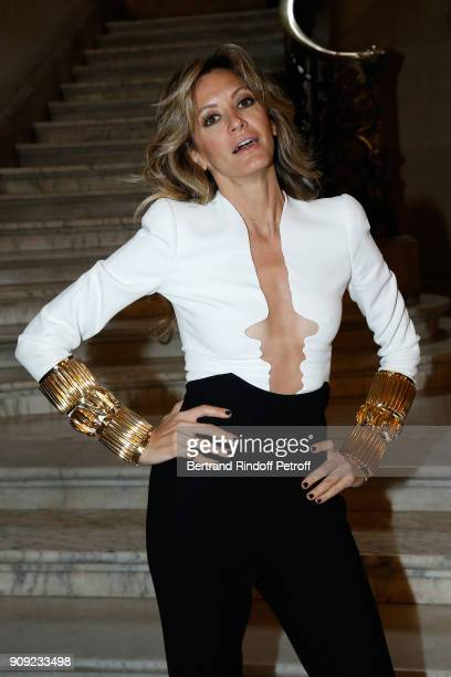 Ulla Parker attends the Stephane Rolland Haute Couture Spring Summer 2018 show as part of Paris Fashion Week Held at Opera Comique on January 23 2018...