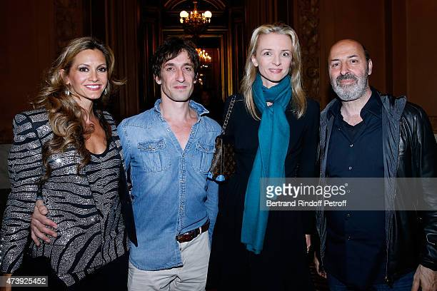 Ulla Parker Star Dancer Benjamin Pech Louis Vuitton's executive vice president Delphine Arnault and and Director Cedric Klapisch attend Star Dancer...