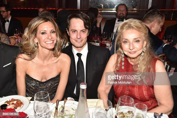 Ulla Parker Thor Halvorssen and Eleanora Kennedy attend Julie Macklowe's 40th birthday Spectacular at La Goulue on December 19 2017 in New York City