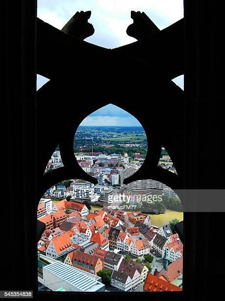 """Ulm und der Donau Blick vom Ulna Tower's """""""