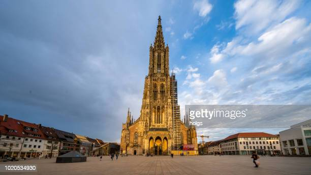 ulm cathedral, germany, europe - ulm stock pictures, royalty-free photos & images