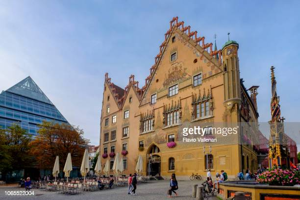 ulm, marktplatz (baden-württemberg, germany) - ulm stock pictures, royalty-free photos & images