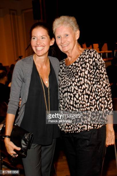 Ulrica Lanaro and Anita Coman attend Power Of Muze Concerts Integration For Peace at Bohemian National Hall on September 23 2010 in New York City